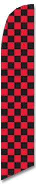 Checkered Black/Red